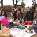 谷中湖へ。ピクニック?