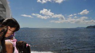 初島でシュノーケリング。凄かった♪